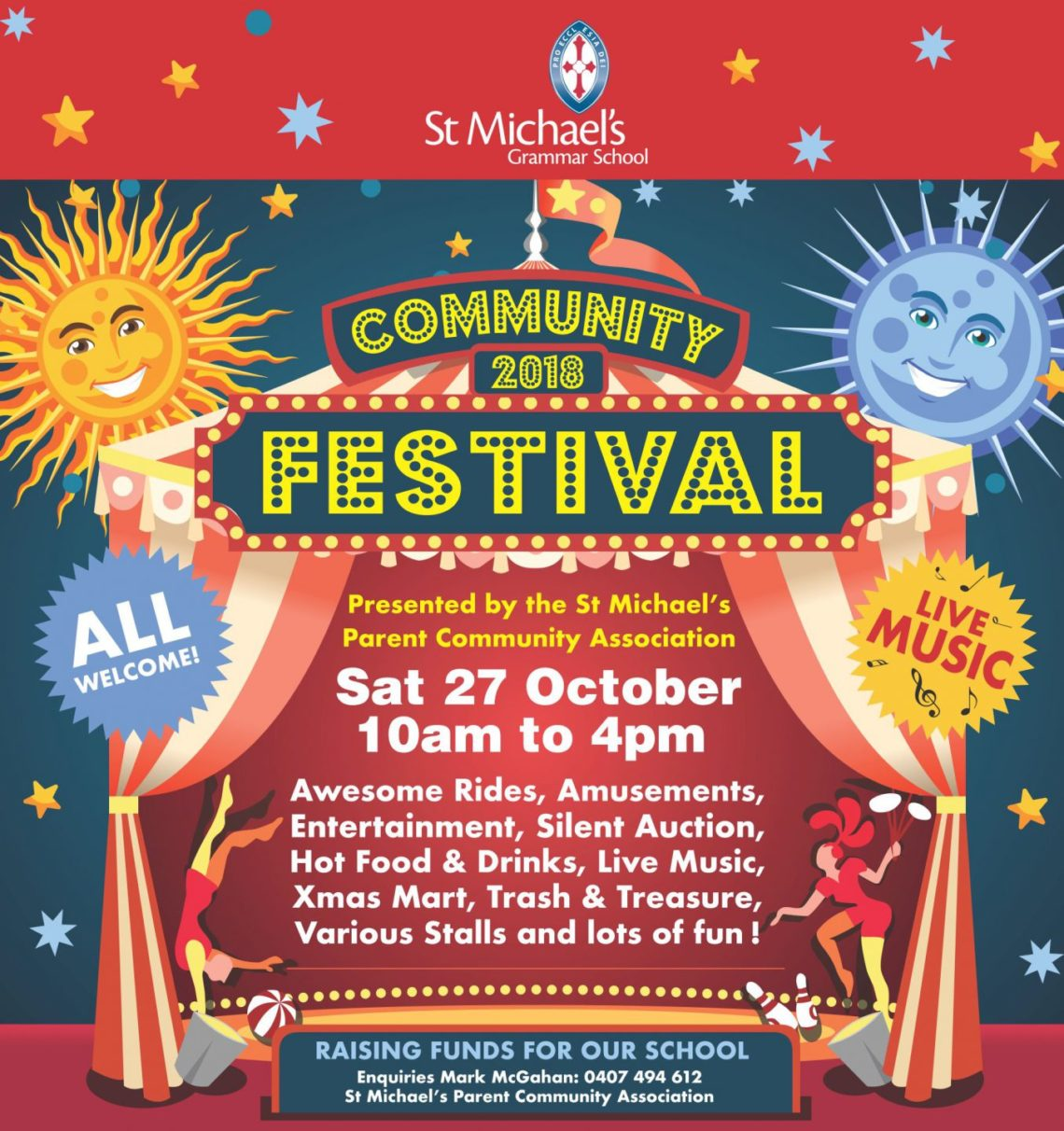 Join us at the St Michael's Community Festival 2018