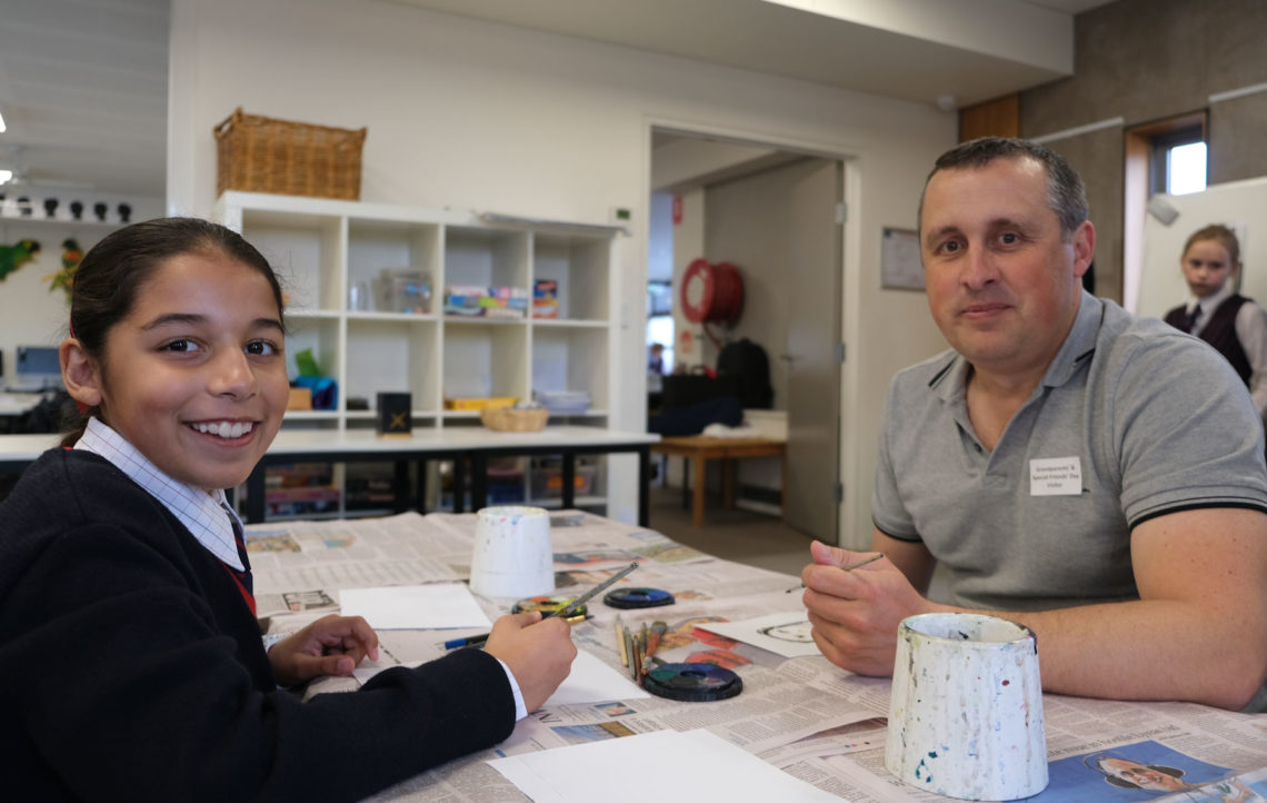 Grandparents' and Special Friends' Day – celebrating learning in the junior years